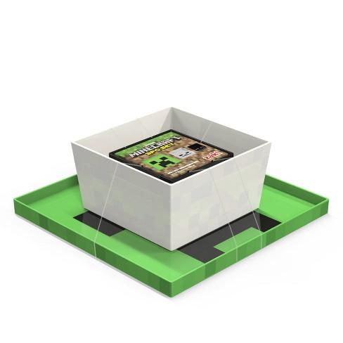 Minecraft 3pc Melamine Dinnerware Set Green - Zak Designs - image 1 of 4