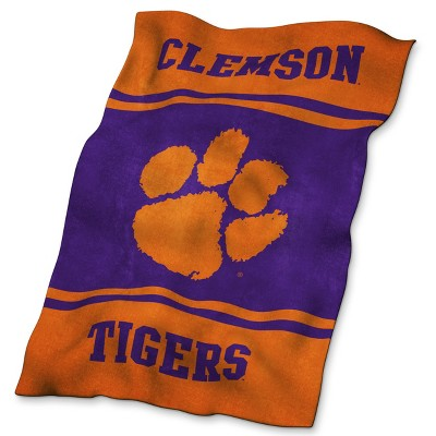 NCAA Clemson Tigers UltraSoft Blanket