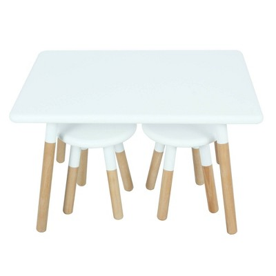 Kids' Dipped Table and Stool Set - ACEssentials