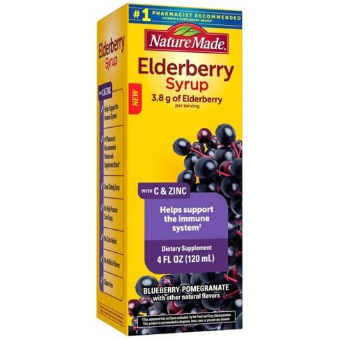 Nature Made Elderberry Syrup - 4 fl oz - image 1 of 4