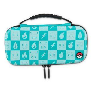 PowerA Protection Case Kit for Nintendo Switch Lite - Pokemon Turquoise Checkered