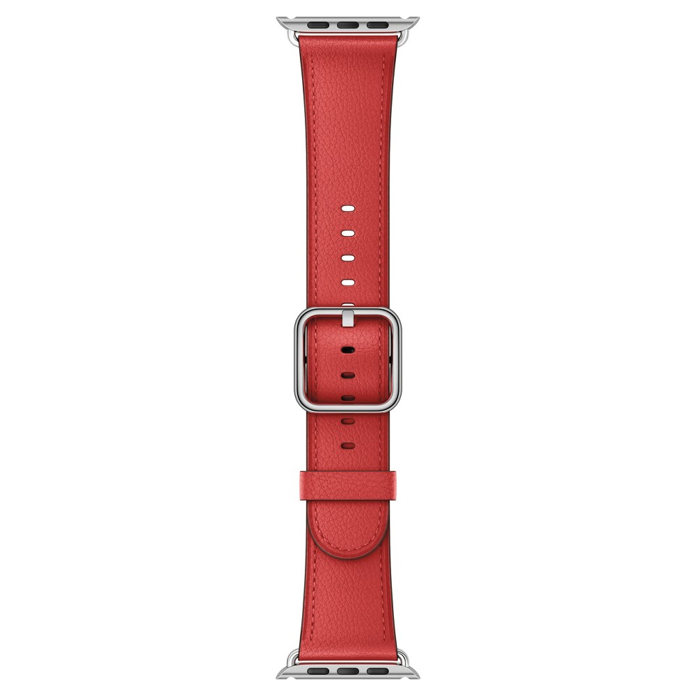 Apple Watch 42mm Classic Buckle Band - Red, Black