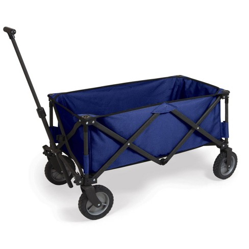 Picnic Time Portable Utility Adventure Wagon - Navy - image 1 of 4