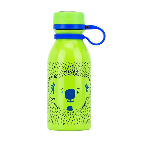 2pk Cerulean /& Gray reduce COLD-1 Stainless Steel Vacuum Insulated Hydro Pro Bottle with Nonslip Rubber Base Tasteless and Odorless 28oz