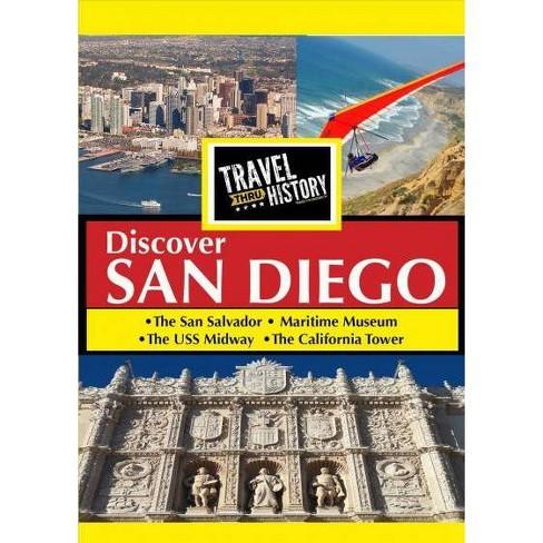 Travel Thru History: San Diego (DVD) - image 1 of 1