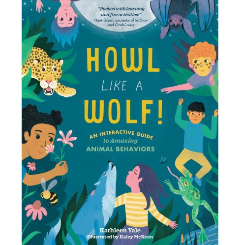 Howl Like a Wolf! -  by Kathleen Yale (Hardcover) - image 1 of 1