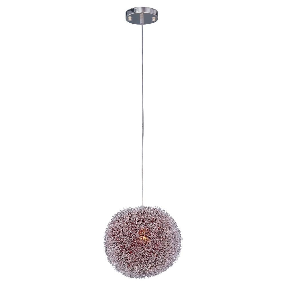 Image of ET2 Lighting Clipp Pendant Aluminum Wire Ball, White
