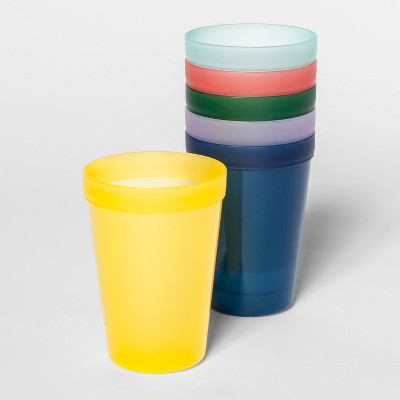 13.5oz 6pk Plastic Kids Tumblers - Pillowfort™