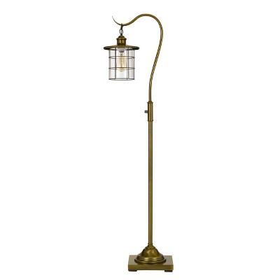 "59.5"" Silverton Floor Lamp Burnished (Includes Light Bulb) Antique Brass - Cal Lighting"