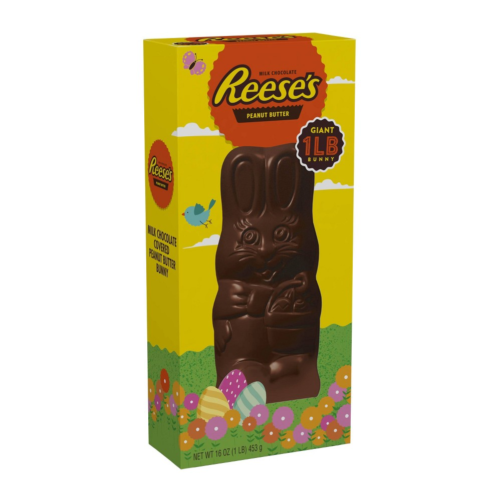 Reese's Peanut Butter Filled Giant Chocolate Easter Bunny - 1lb