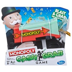 Monopoly Cash Grab Game, board games