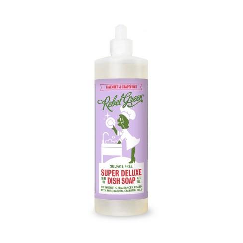 Rebel Green Lavender & Grapefruit Dish Soap - 16oz/2ct - image 1 of 1