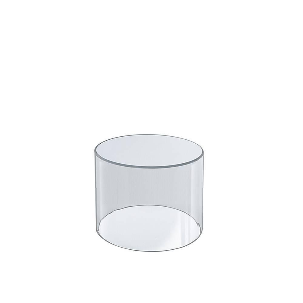 Marvelous Azar Displays 4 X 4 Acrylic Cylinder Medium Clear Inzonedesignstudio Interior Chair Design Inzonedesignstudiocom