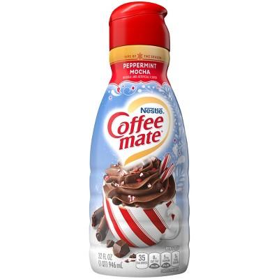 Coffee mate Peppermint Mocha Coffee Creamer - 1qt