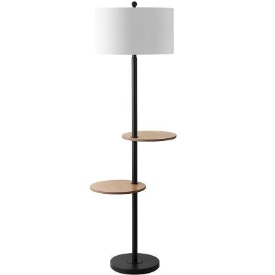 Kelsen Floor Lamp - Matte Black - Safavieh