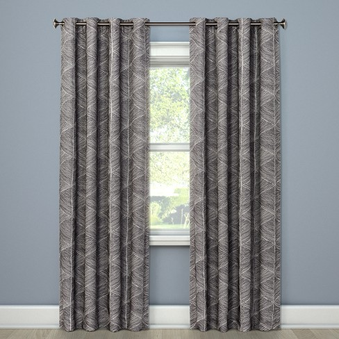 "Modern Stroke Curtain Panels 84""x50"" - Project 62™"