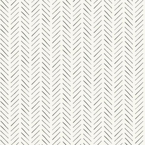 RoomMates Pick-Up Sticks Magnolia Home Wallpaper Cream - image 1 of 2