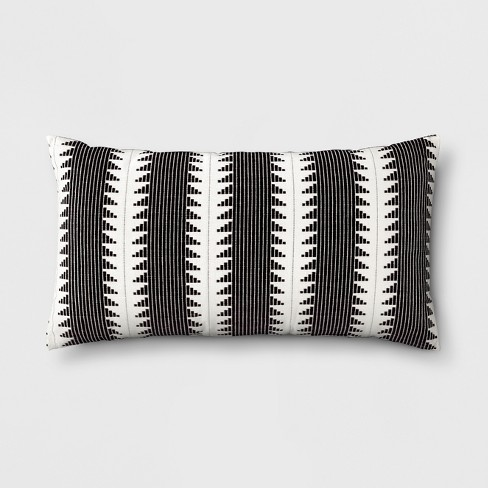 Global Oversize Lumbar Throw Pillow Black - Threshold™ - image 1 of 5