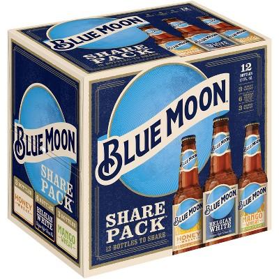 Blue Moon Variety Pack Ale - 12pk / 12 fl oz Bottles