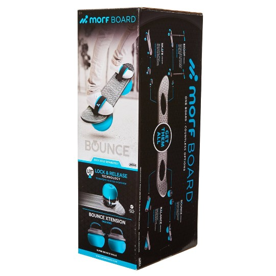 MorfBoard Bounce Attachment - Silver Cyan image number null