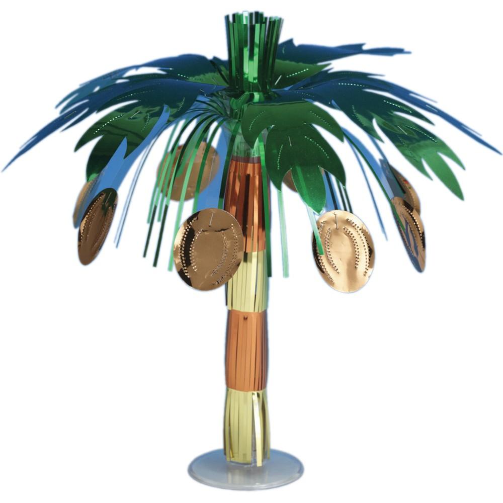 Creative Converting Coconut Tree Foil Centerpiece