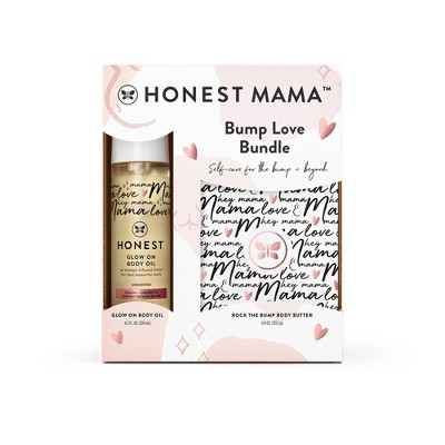 The Honest Company Honest Mama Body Butter + Body Oil Gift Set