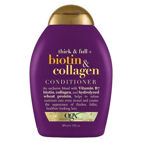 OGX Thick Full Biotin Collagen Conditioner - image 1 of 4