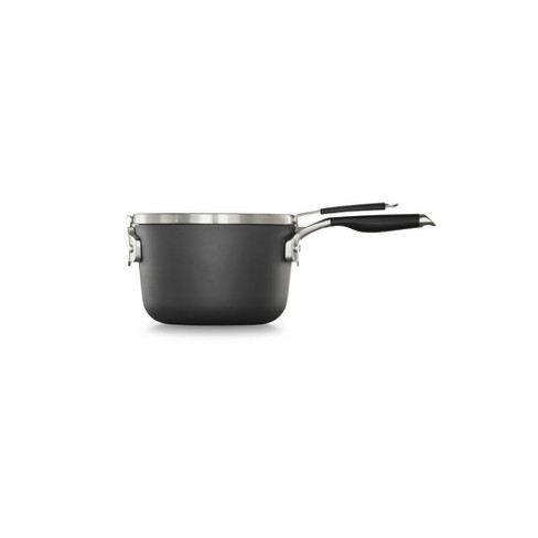Calphalon Select 3.5qt Space Saving Hard-Anodized Nonstick Sauce Pan with Lid - image 1 of 4