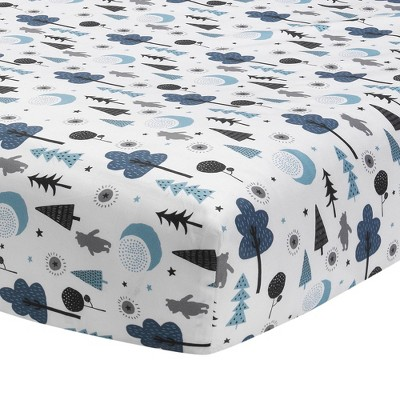 Lambs & Ivy Disney Baby Nursery Crib Fitted Sheet - Forever Pooh