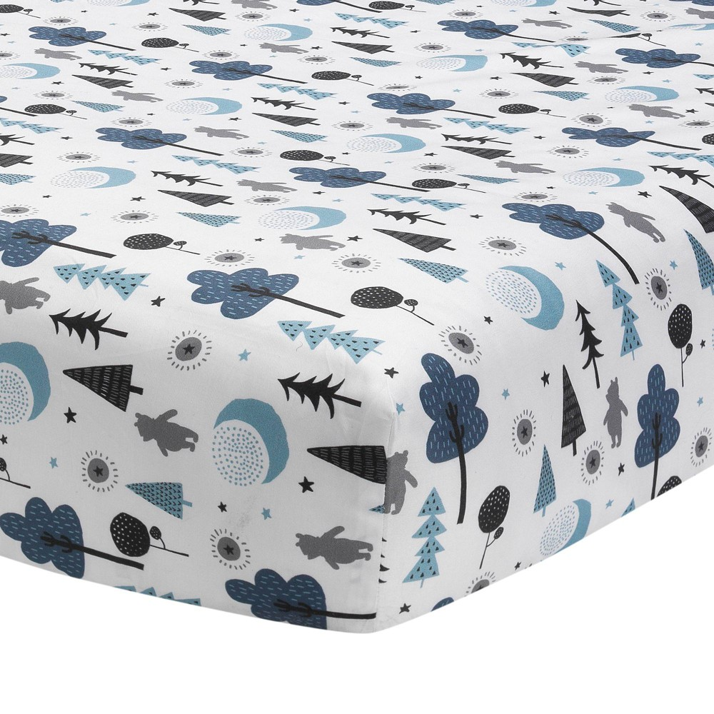 Image of Lambs & Ivy Disney Baby Nursery Crib Fitted Sheet - Forever Pooh