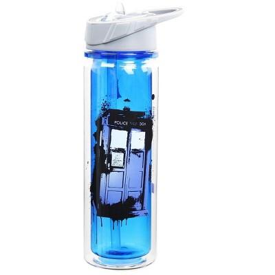 """Vandor Doctor Who 18oz """"Bad Wolf"""" Tritan Water Bottle"""