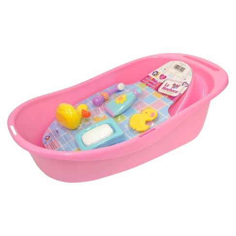 Baby Alive Bath Tub.Jc Toys For Keeps 16 Newborn Doll Bath 5pc Set