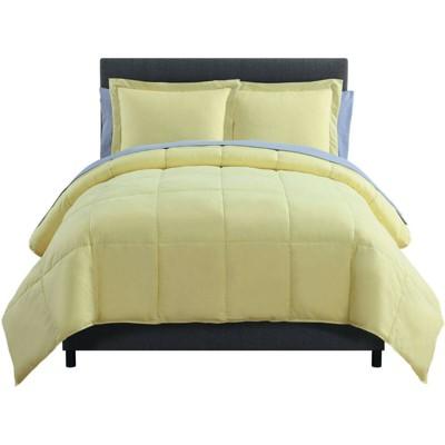 Kate Aurora Living Goose Down Alternative Bed in a Bag Complete Comforter Set