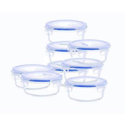 Kinetic Go Green Elements Round Food Storage Container Set - 33oz