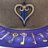 Disney Kingdom Hearts Snap Back Brimmed Hat - Kingdom Hearts Logo on Brim - image 3 of 3