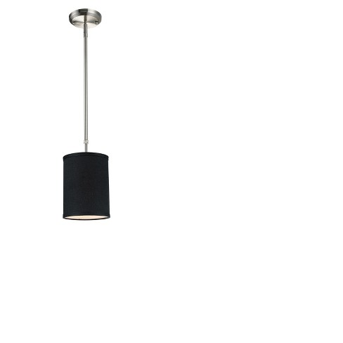 Mini Pendant with Black Glass Ceiling Lights - Z-Lite - image 1 of 1