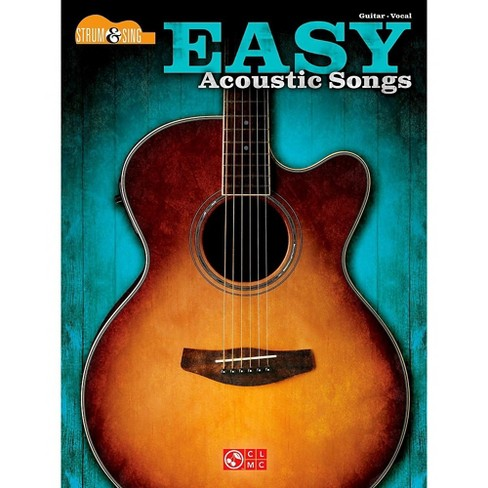 Music Instrument Acoustic Guitar Songs Easy To Sing