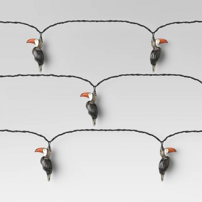 10ct Incandescent Toucan String Lights - Opalhouse™