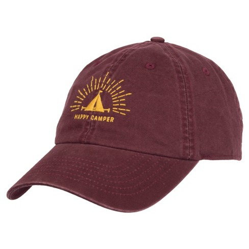 Wemco™ Men's Happy Camper Hat - Burgundy One Size - image 1 of 2