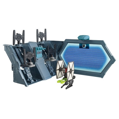Hot Wheels Star Wars Starship TIE Fighter Blast-Out Battle Playset - image 1 of 11