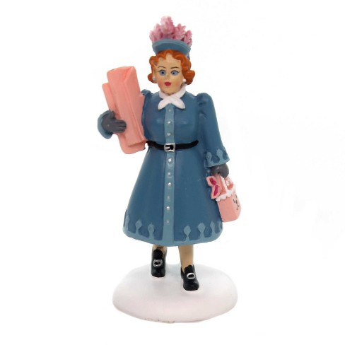 "Department 56 Accessory 2.75"" Aunt Clara Christmas Story Shopping  -  Decorative Figurines - image 1 of 2"