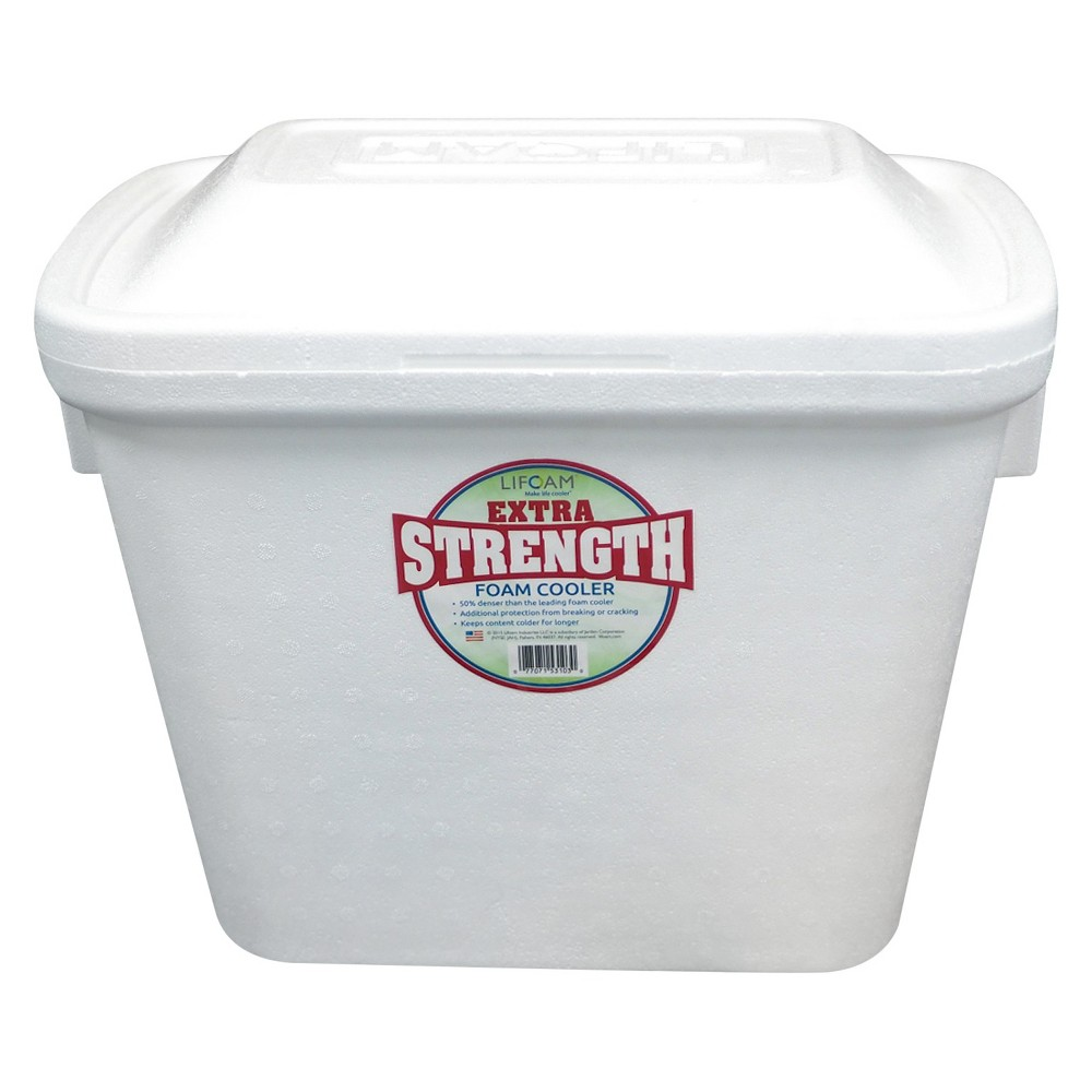 Lifoam Extra Strength Cooler - White