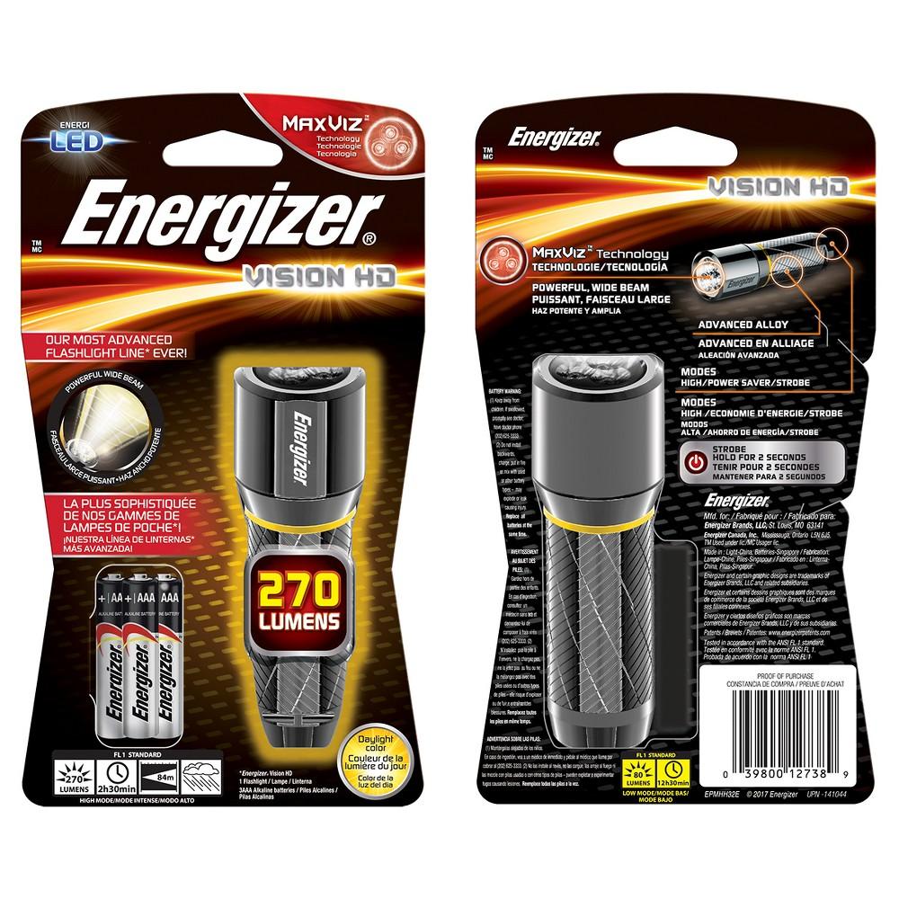 Energizer Vision Led HD 2AA Metal Light