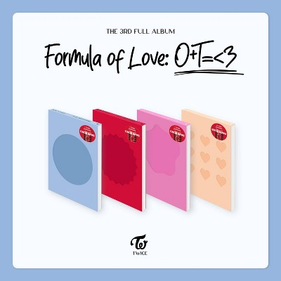 TWICE - Formula of Love: O+T=<3 (Target Exclusive, CD)