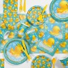 24ct Rubber Duck Bubble Bath Paper Plates Yellow - image 2 of 3