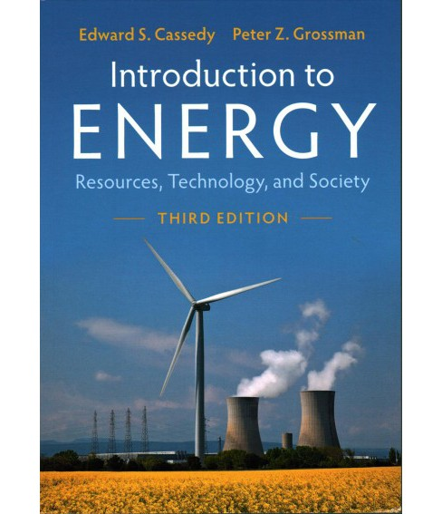 Introduction to Energy : Resources, Technology, and Society -  (Paperback) - image 1 of 1