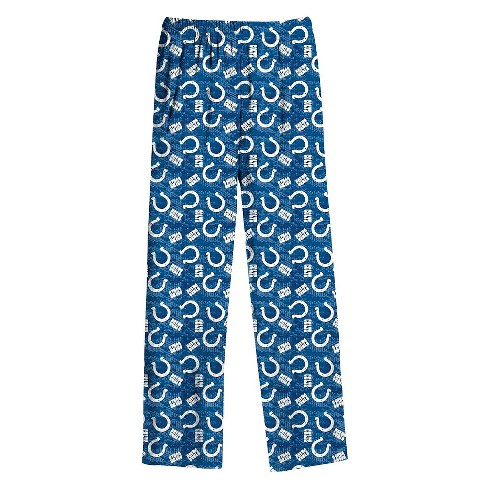 Indianapolis Colts Boys' All Over Print Pants M - image 1 of 1