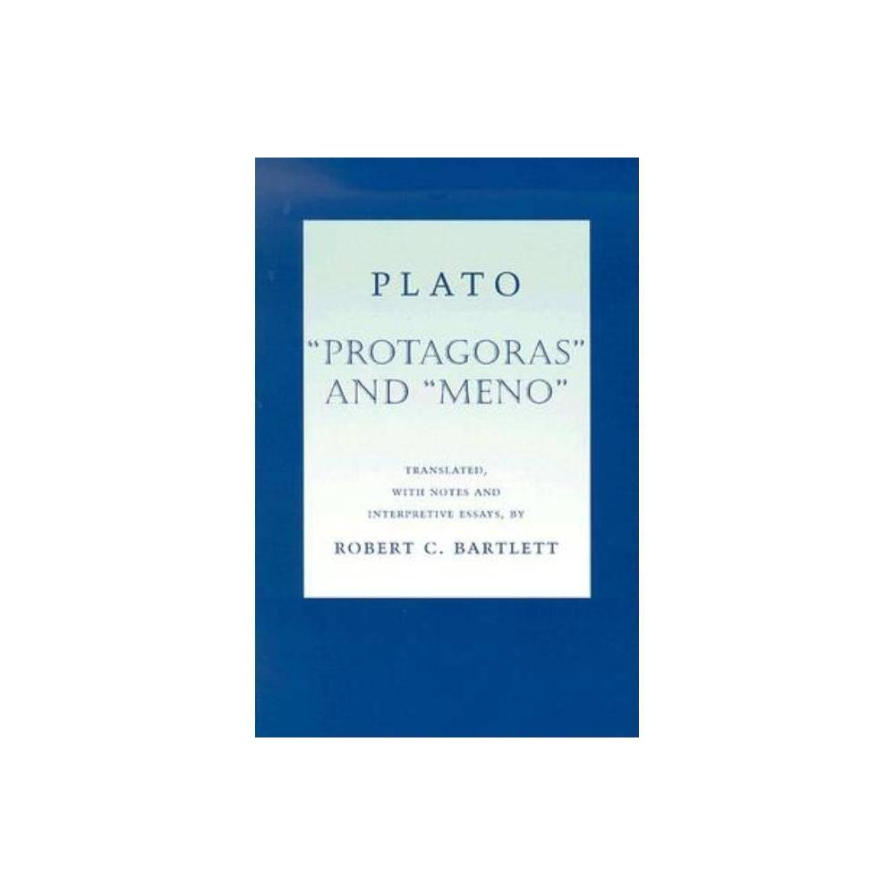 Plato Protagoras and Meno - (Agora Editions) (Paperback)