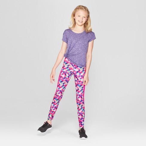 2b13c975c67c Girls  Novelty Printed Performance Leggings - C9 Champion® Dot Multi XS    Target