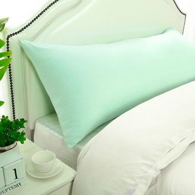 1 Pc Body 1800 Series Soft Brushed Microfiber Pillowcase Spa Blue - PiccoCasa